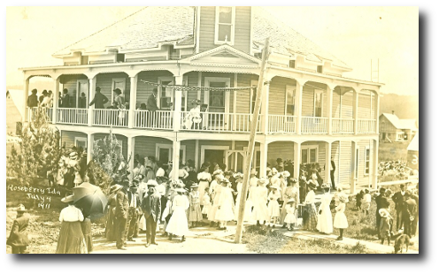 historic image of Roseberry Hotel